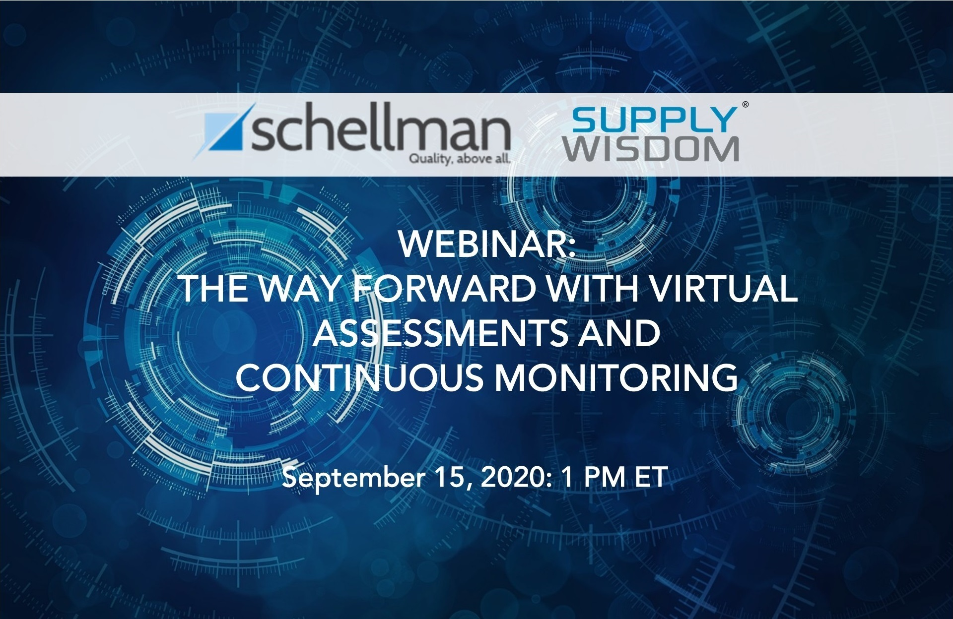 Webinar Virtual Risk Assessments and Continuous Risk Monitoring