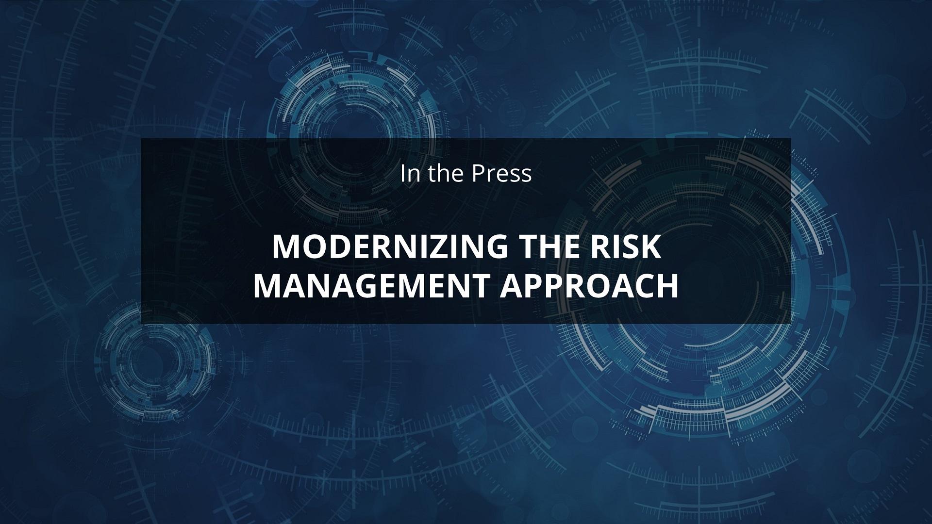 Modernizing TPRM Approach