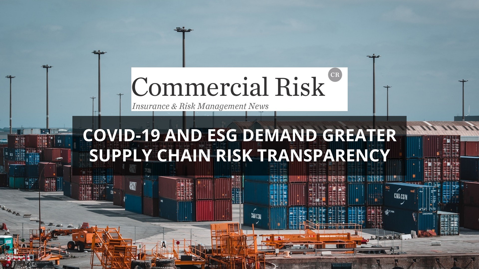 Covid19 and Supply Chain Risk
