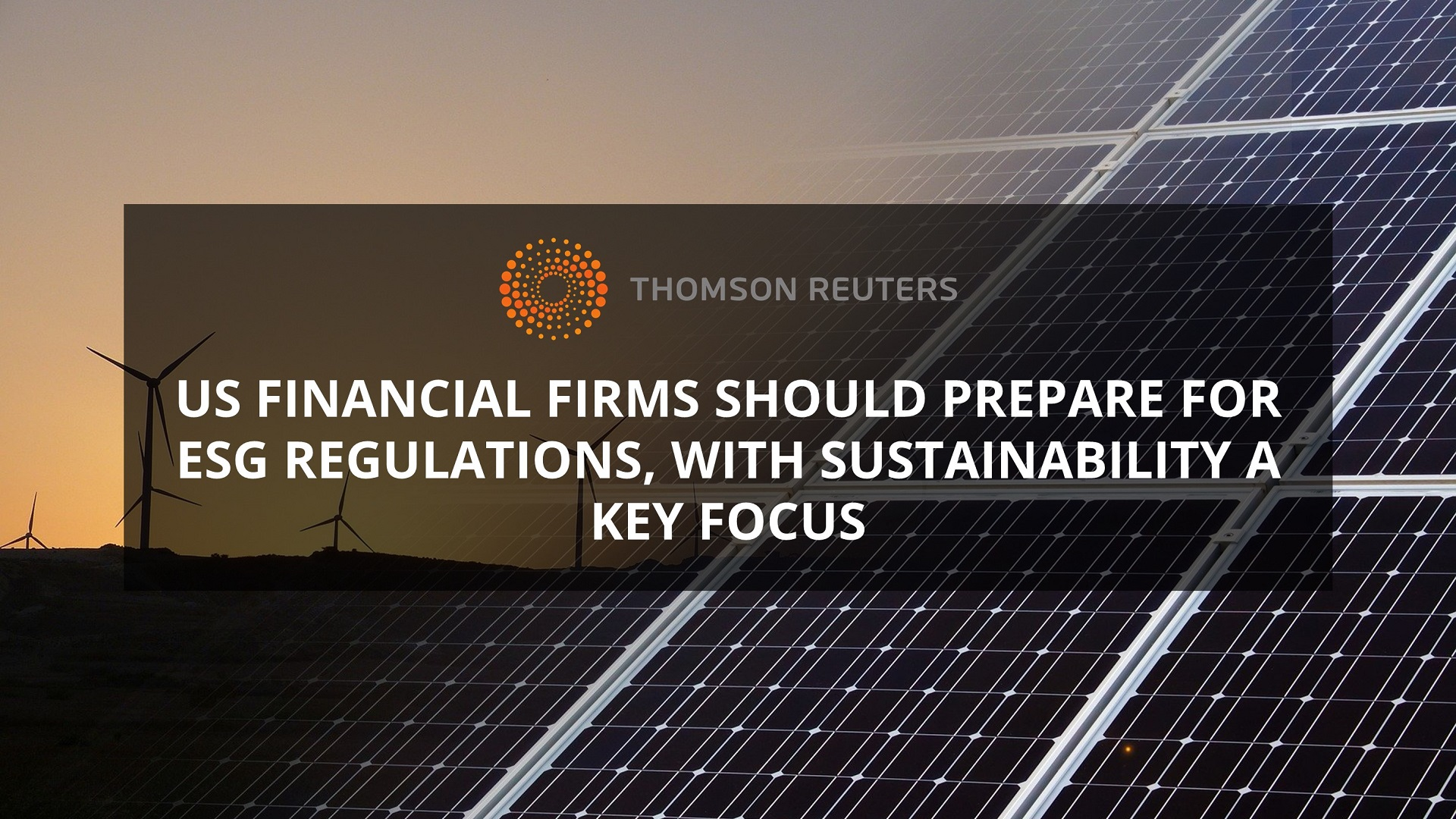ESG Regulations in Focus for US Financial Firms
